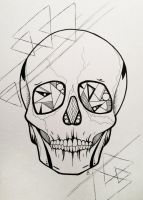 Skull Triangles by lovedolphins10409