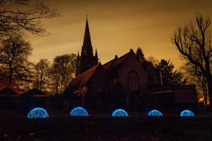The Domes of St Margarets by Grunvald
