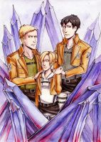 SNK Trio by MaryIL