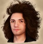 Out of control Jewfro by AlcamecArt
