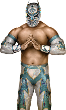 WWE 2K14 Sin Cara Render Cutout by ThexRealxBanks