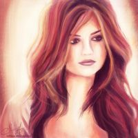 Lucy Hale, Aria Montgomery. by ex0tique