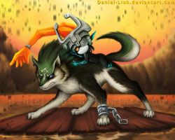 Link and Midna by Daniel-Link