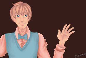 2P!Hetalia | Do you want cupcakes, dear? by Lazorite