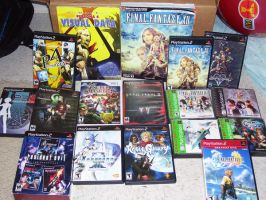 My Personal Game Collection by multigal