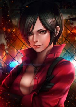 Ada Wong by magion02