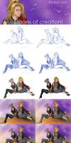 The Bad Touch stages by Moon-illusion