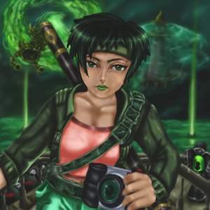Jade - Beyond Good and Evil by Saberryna