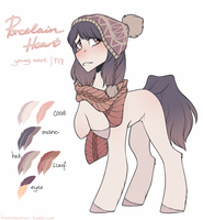[Design Trade]: Porcelain Heart by HarmoniousRain