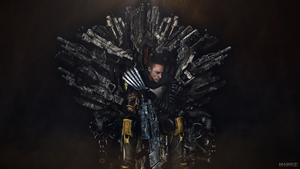 Game of Zaeed (Mass Effect 3) by toxioneer