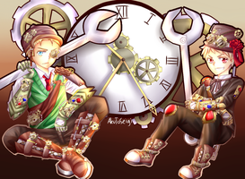 CE: The Clock Workers by AkuToSeigi