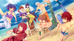 CR-MB: BEACH PUH-LEASE! by hirappon