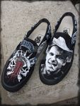 Hank III painted Vans 2 by MadTwinsArt