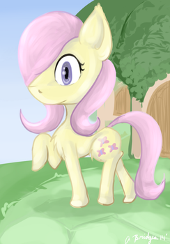 Fluttershy (new Style) by Peaceful-Asylum