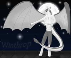 Winthrop The Winged Chimera by xShining-Fox