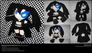 Black Rock Shooter beanie by Neon-Juma
