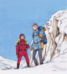 Spirou and Fanta in snow color by Jemppu