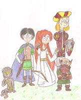 The Chronicles of Prydain by nerdsman567
