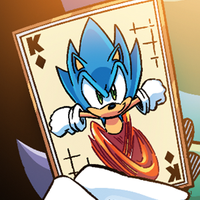 Sonic card icon by hedgehognetworks