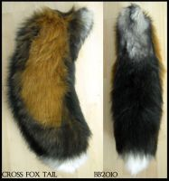 Cross Fox Tail SOLD by Magpieb0nes