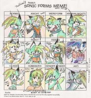Spark's Sonic Forms Meme by Lionrae