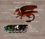Cherrub Pet Dragon by Meykka