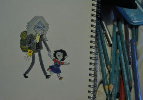 Simon Petrikov #5 with little Marcy by SNEStrogen