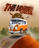The Didgeridoo Express by BOBTheCAVEMAN