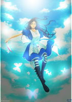 Alice Madness Returns ~ Coloring by Kathaly