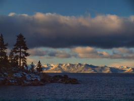 Lake Tahoe morning2 by MartinGollery