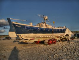 Rescue Boat Ameland by Misterooo