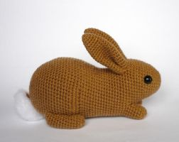 Flemish giant rabbit by LunasCrafts