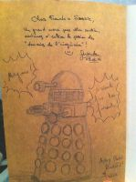 DALEK by Yvan WEST LAURENCE ( french author ) by neodrago