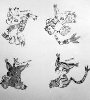 Tailmon+Variation :3 by yohchii