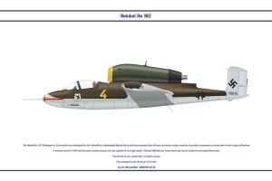 He 162 JG1 1 by WS-Clave