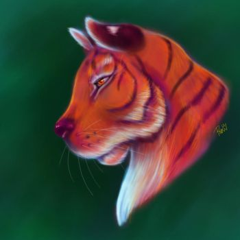 Tyger Tyger by PlaidRed