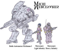 MICHI Mercenaries by Shabazik