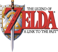 Zelda A Link To The Past Logo by GGRock70