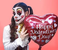 Cute Clown Valentine by InstilledPhear