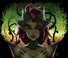Zyra - Fan Art by paulo-peres