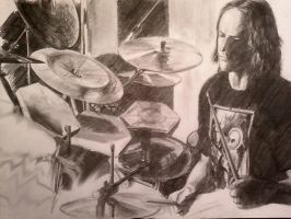 Danny Carey_the final touch by icestreet