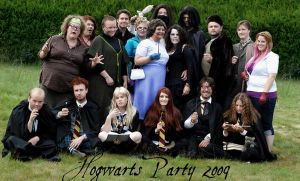 Hogwarts Party 2009 by majann