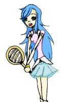 Tennis girl by xX-Arya-xX