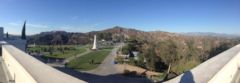 Griffith Observatory by Vanna-Zorion