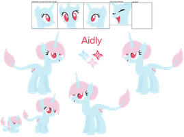 Aidly's Official Debut by Sky-Winds