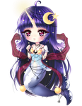 Magical Night-Narwhal Chibi by Chierue