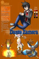 PDL NPC: Dante Zamora App by Alora-Of-Hearts
