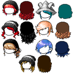 Mixed hair 15 by Foundest