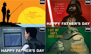 StarWars.com Father's Day eCards by grantgoboom