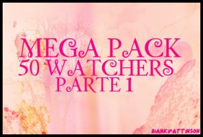 Mega pack 50 watchers II PARTE 1 by BiancaWeasly